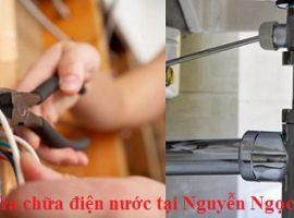 Sửa chữa điện nước tại Nguyễn Ngọc Vũ