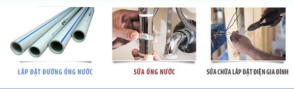 Lắp đặt điện nước Hà Nội