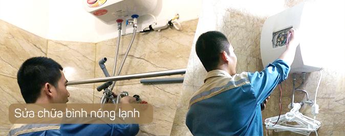 Sửa bình nóng lạnh tại nhà Hà Nội