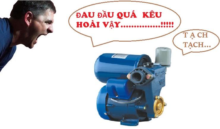 Sửa máy bơm tăng áp tại nhà hà nội