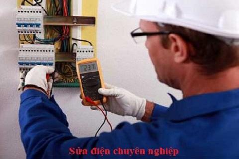Thợ sửa điện tại nhà ở Hà Nội